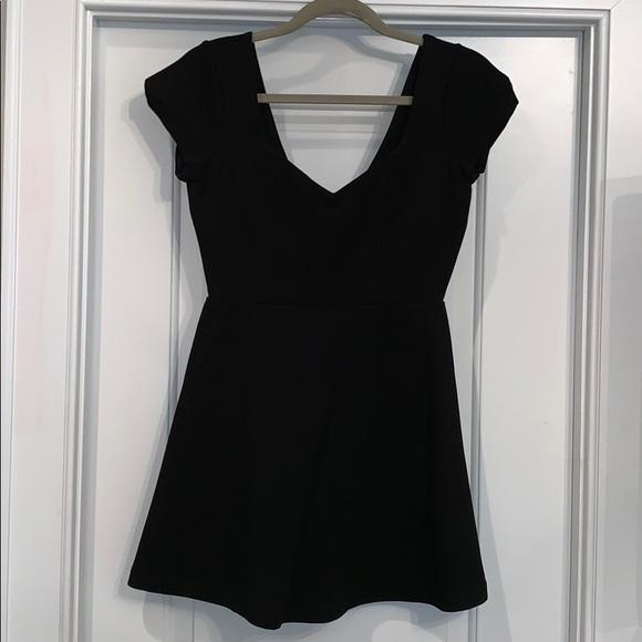 ee72dd5e1 Urban Outfitters Dresses | Black Mini Skater Dress Sz 2 | Poshmark